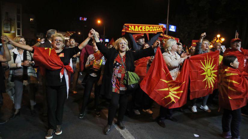Macedónsko referendum Grécko spor názov