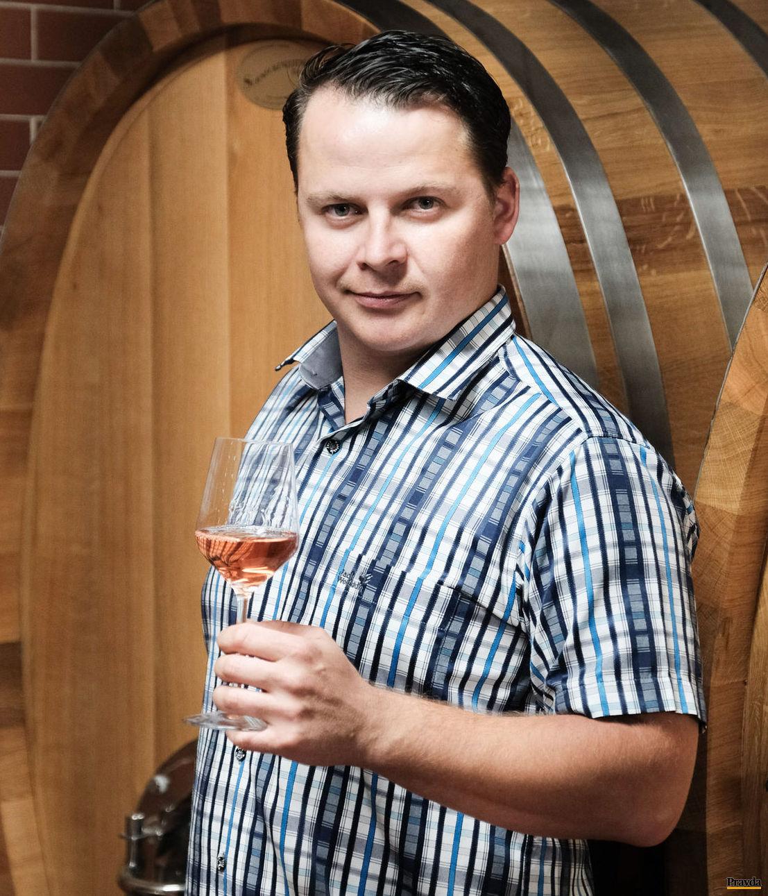 Trojnásobný šampión suchých ružových vín Juraj Vršek.