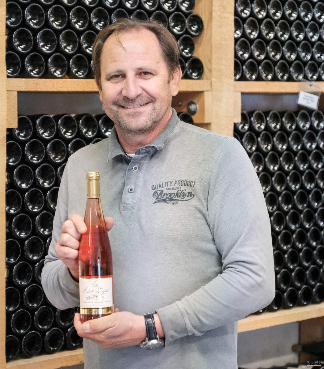 Ludvík Žofiak z viacgeneračného modranského vinárstva.