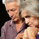 pozostalí, dôchodci, smútok, smrť, seniori, staroba