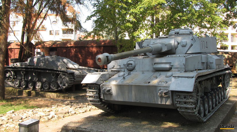 Tanky, Múzeum Slovenského národného povstania,