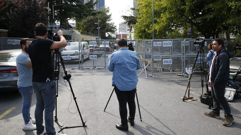 turecko, istanbul, novinári, saudská arábia