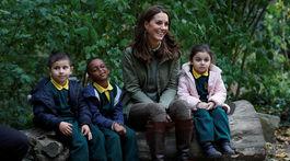Vojvodkyňa Kate z Cambridge preukázala svoj dobrý vzťah k deťom. Takto skvelo si s ňou rozumejú.