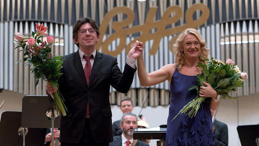 Magdalena Kožená Václav Luks BHS