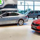 Škoda-Auto - predajňa