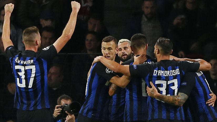 Škriniar Inter Futbal Liga majstrov