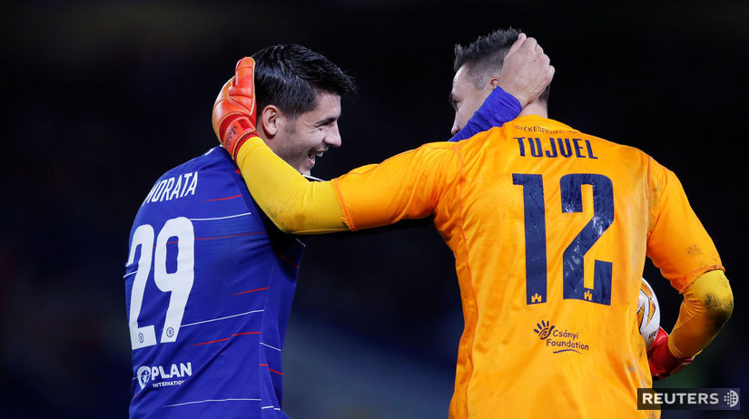 Álvaro Morata, Tomáš Tujvel