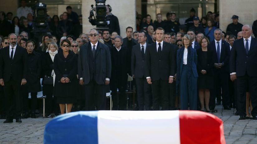 Aznavour, pohreb