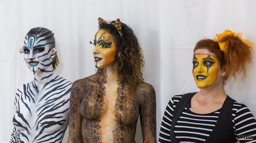 Interbeauty Incheba nahota bodypainting