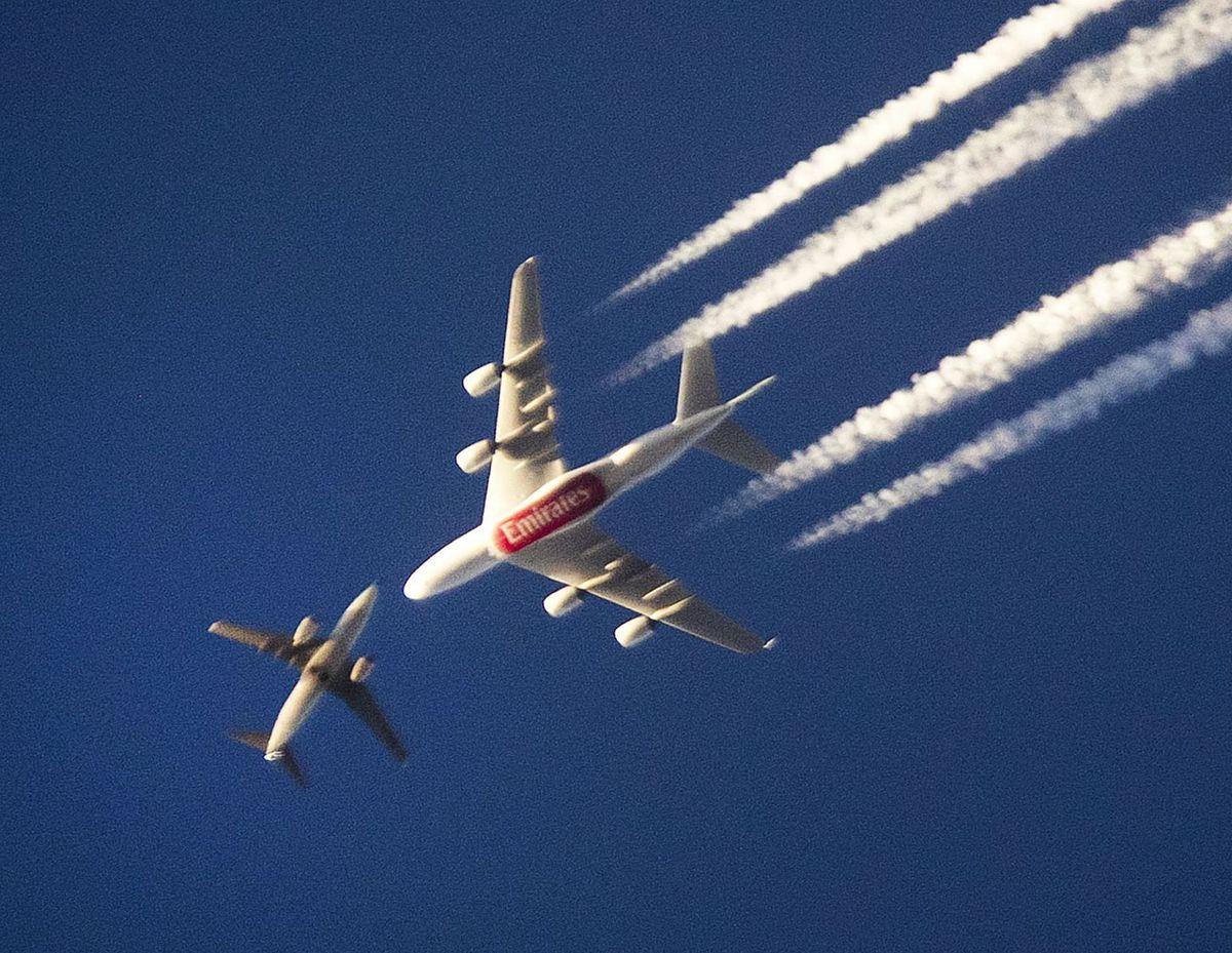 lietadlá, Emirates