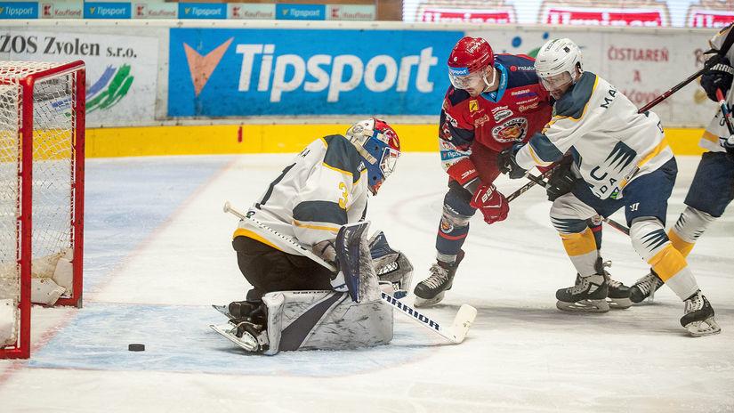 SR Hokej TL 9.kolo Zvolen Budapešť BBX