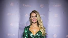 Bývalá Miss Universe SR Anna Amenová.