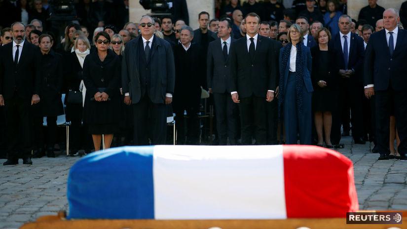 Charles AZNAVOUR, pohreb, Francúzsko, spevák,...
