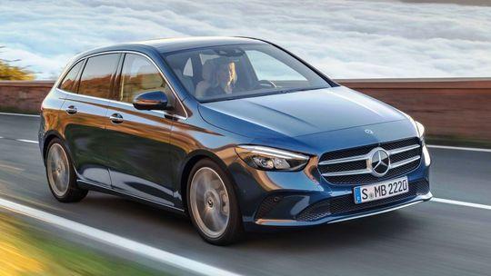Mercedes-Benz B: Nové 'béčko' chce byť menej MPV a viac Sports Tourer