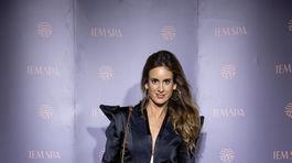 Na otvorenie nového beauty-centra prišla aj Iveta Tkáčová.