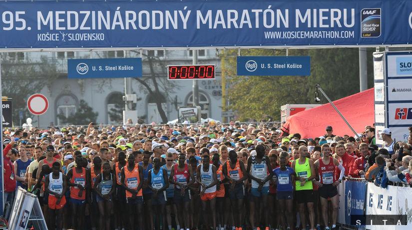 ATLETIKA: Medzinárodný maratón mieru