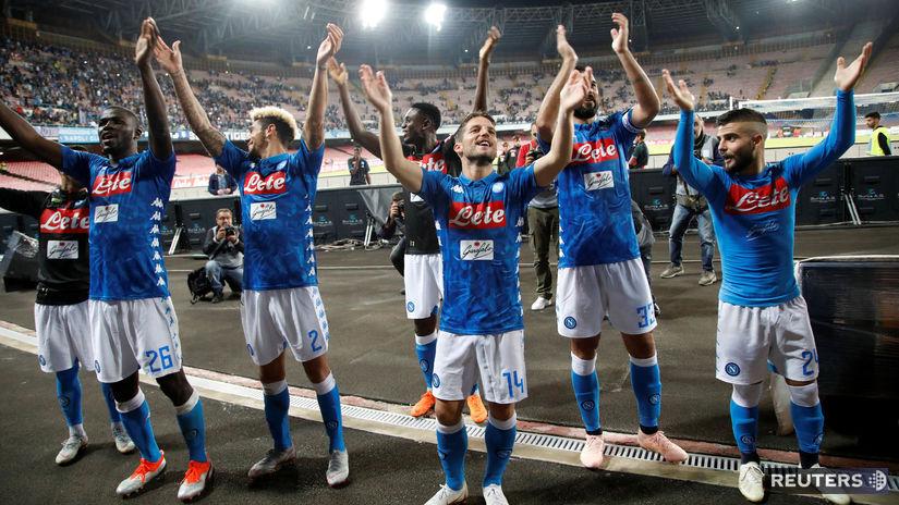 futbal neapol