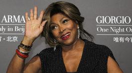 Speváčka Tina Turner na archívnom zábere.