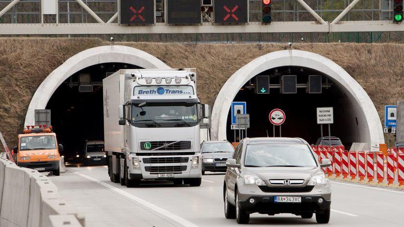 tunel sitina, doprava
