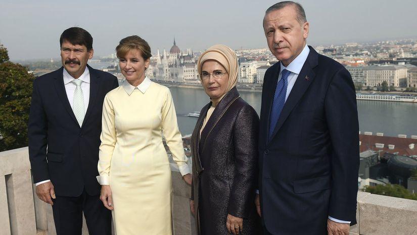 Maďarsko Turecko Erdogan návšteva