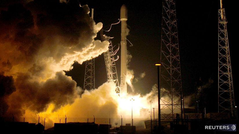 spacex, falcon 9, raketa, štart