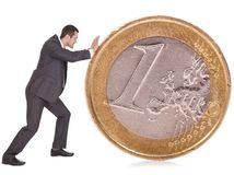 muž, euro, peniaze, dlhy