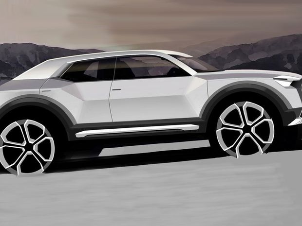 Audi Q1 - skica