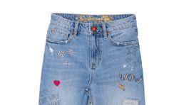 Dámske džínsy značky Desigual, predávajú sa za 119,95 eura.