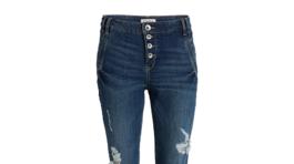 Dámske džínsy značky Lindex, predávajú sa za 39,99 eur.