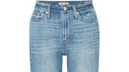 Dámske džínsy značky Madewell, predávajú sa za 169 eur.