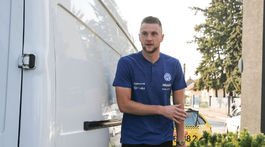 futbal, zraz reprezentacie, Milan Skriniar,