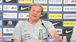 futbal, zraz reprezentacie, trener Jan Kozak,