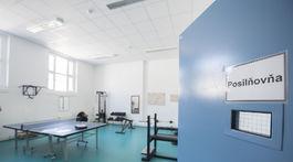 SR justícia väznica Bratislava zrekonštruovaná posilňovňa