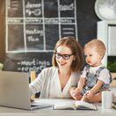 práca z domu, materská, práca, kariéra