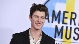 Spevák Shawn Mendes.