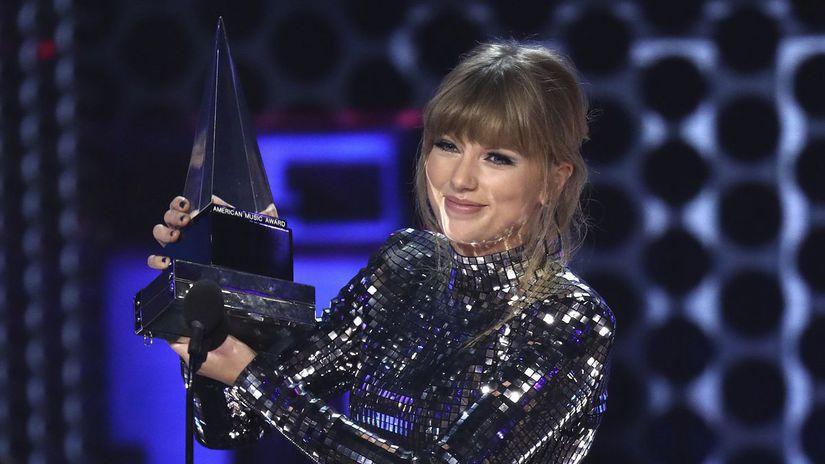 Taylor Swiftová American Music Awards