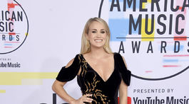 Tehotná speváčka Carrie Underwood.