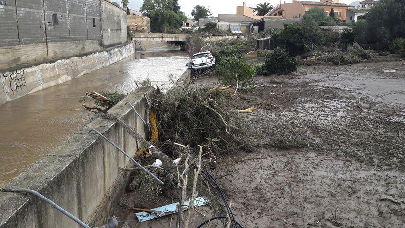 záplavy, Malorka