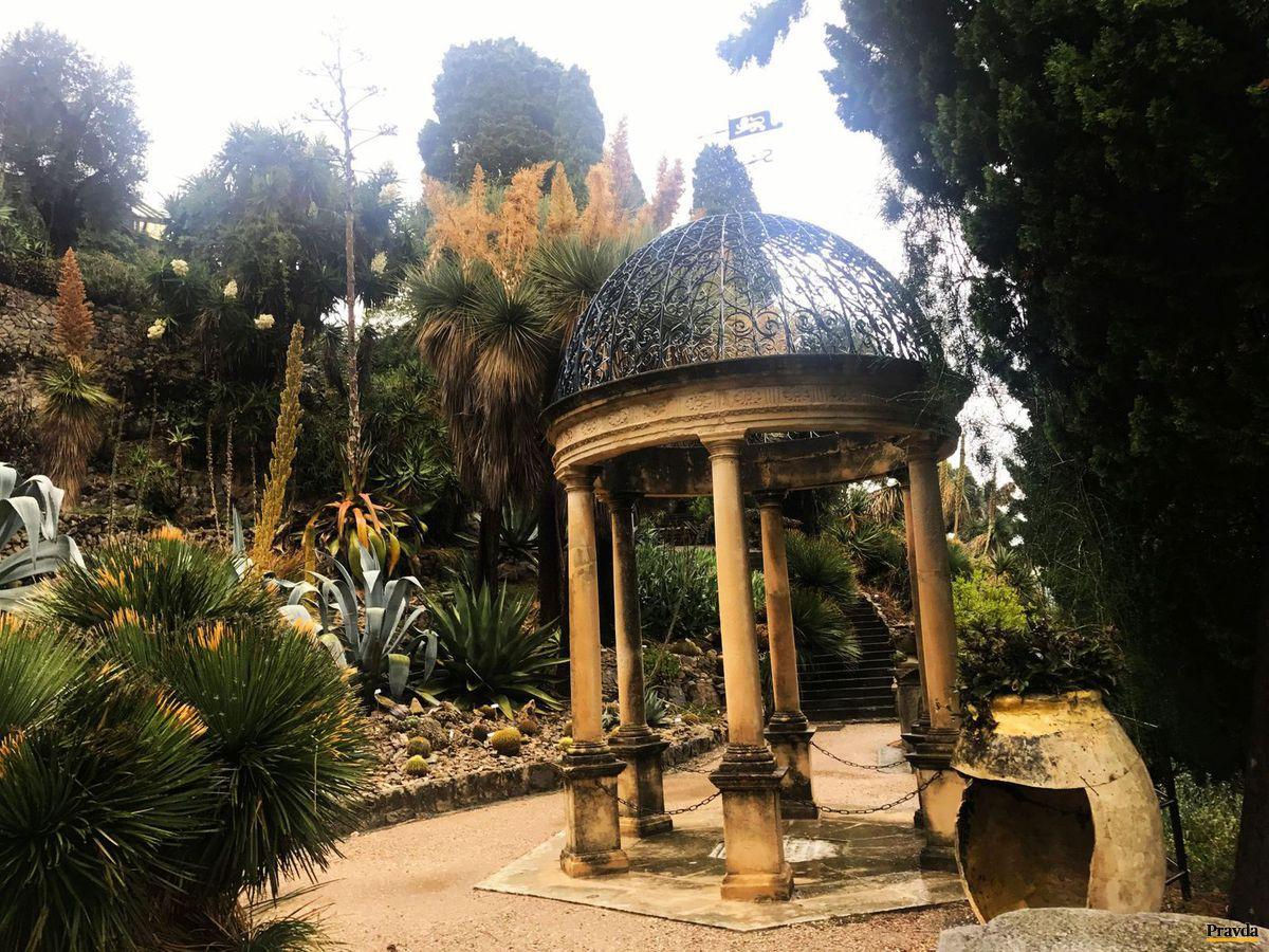 botanická záhrada, Giardini Hanbury