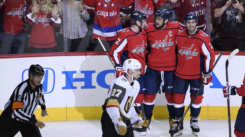 Golden Knights Capitals Hokej NHL