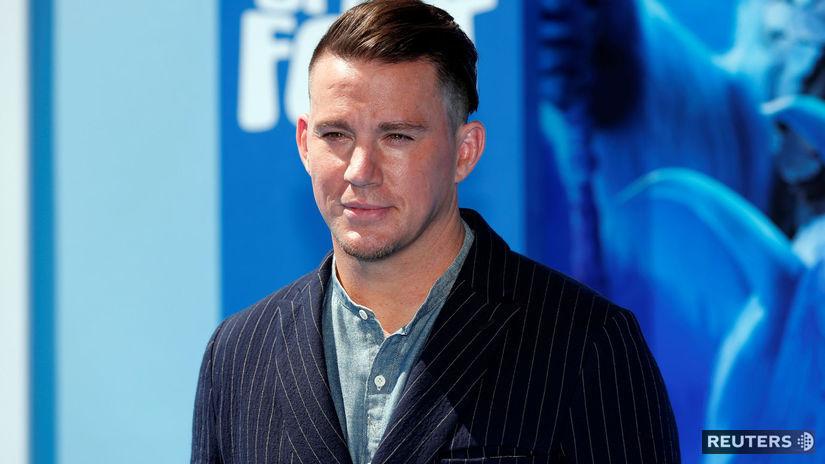 Herec Channing Tatum na zábere z premiéry...