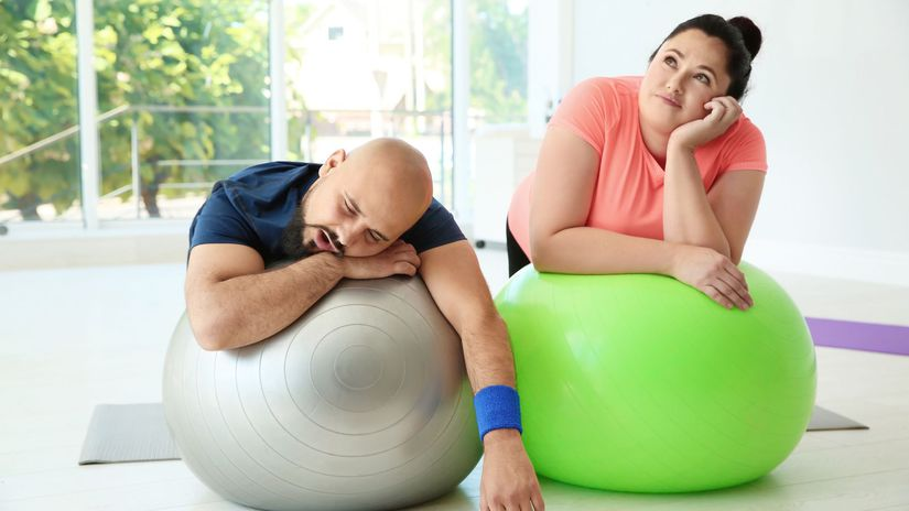 obezita, cvičenie, pohyb