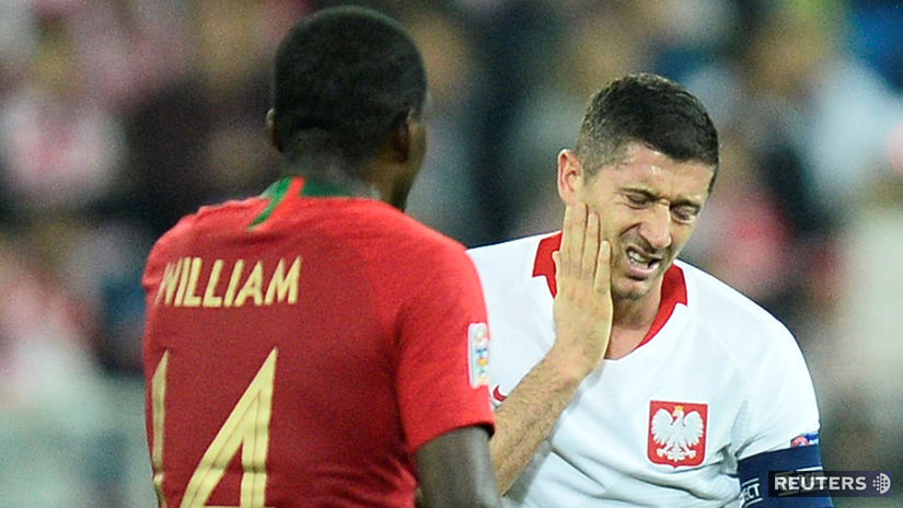 Robert Lewandowski, William Carvalho