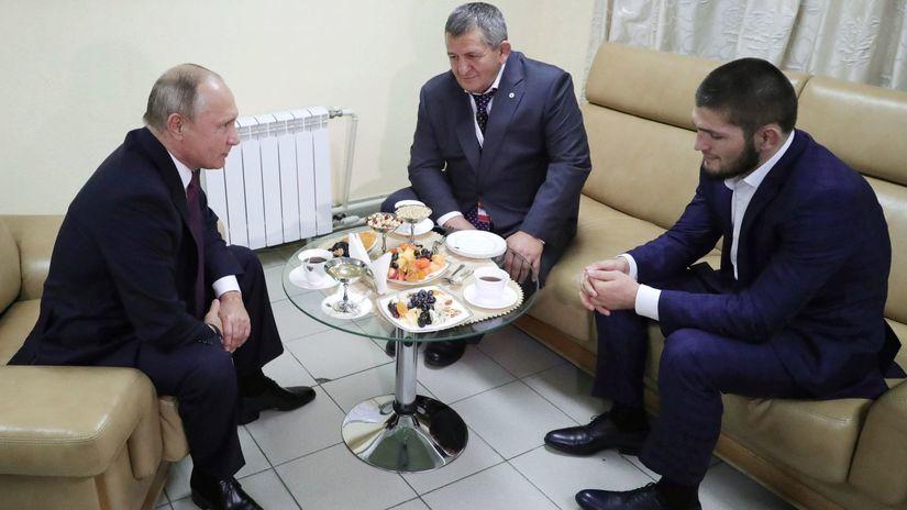 UFC Putin Nurmagomedov