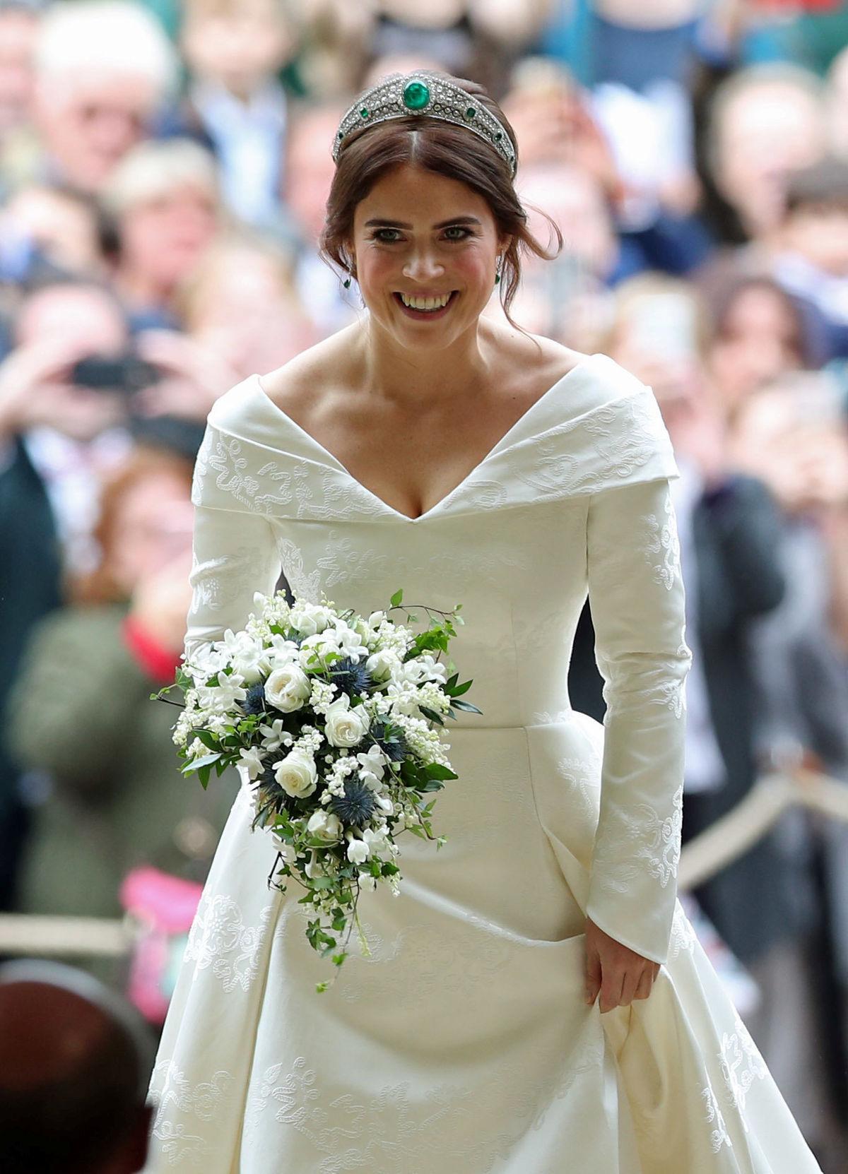 7831bd3a0a Svadobné šaty a doplnky princeznej Eugenie budú vystavené na hrade ...