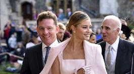 Nick Candy a jeho manželka Holly Candy medzi hosťami kráľovskej svadby.