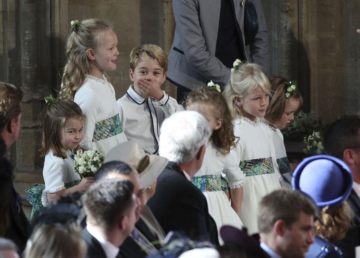 009b7376cee6 Kráľovská svadba je zábava! Takto si ju užili malé družičky a ...