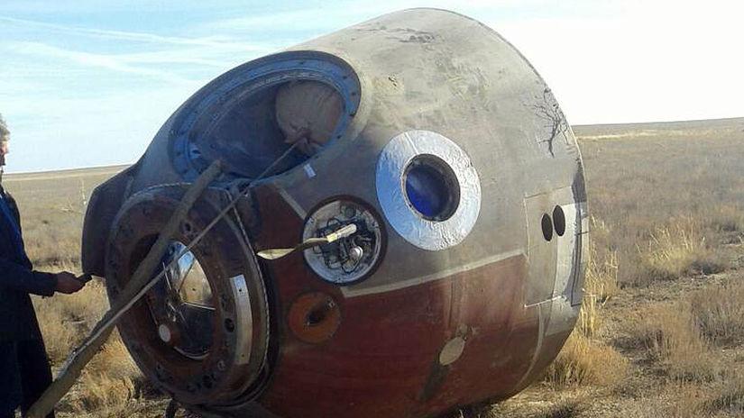 Rusko USA vesmír ISS misia štart pristátie núdzové