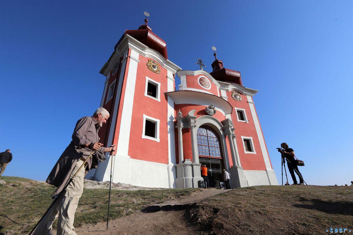 SR cirkev kalvária obnova Banská Štiavnica BBX