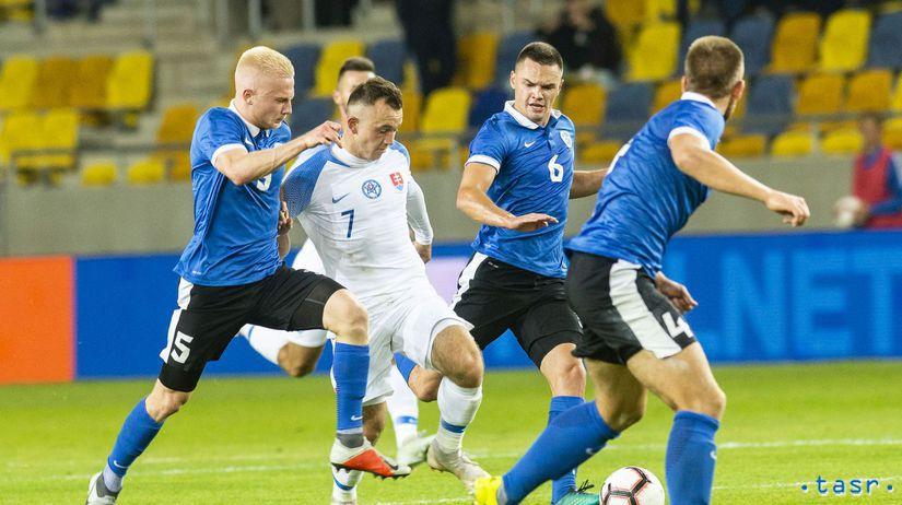 SR futbal SR 21 ME kvalifikácia Estónsko Káčer